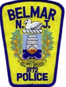 The Belmar Police are responsible for law enforcement in Lake Como and file charges for possession of cocaine and distribution of cocaine.