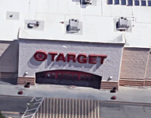 A store where individuals are frequently charged with shoplifting is Target.
