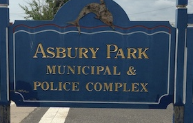 Photograph of sign for Asbury Park Municipal Court