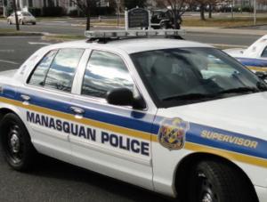 Photograph of patrol car in Manasquan Borough
