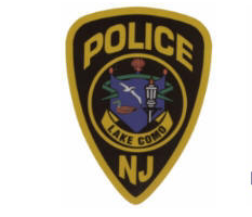 Photo of the Lake Como Police patch